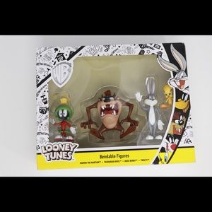 Looney Tunes Bendable Figures